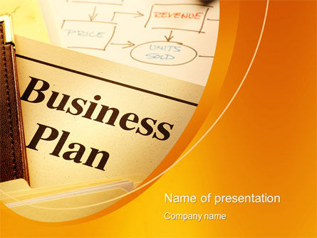 Business Plan Flowchart PowerPoint Template, 10522, Business — PoweredTemplate.com