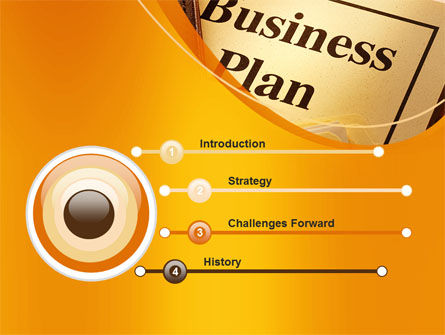 Business Plan Flowchart PowerPoint Template, Slide 3, 10522, Business — PoweredTemplate.com