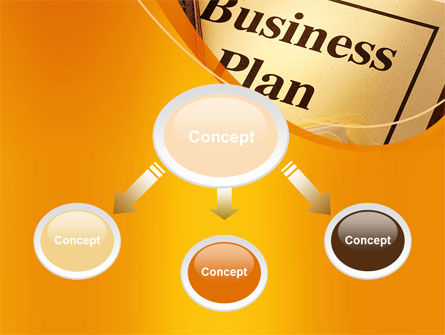 Business Plan Flowchart PowerPoint Template, Slide 4, 10522, Business — PoweredTemplate.com