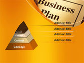 Business Plan Flowchart PowerPoint Template#12