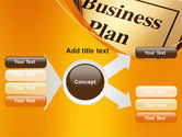 Business Plan Flowchart PowerPoint Template#14