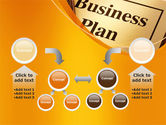 Business Plan Flowchart PowerPoint Template#19