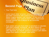 Business Plan Flowchart PowerPoint Template#2