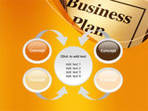 Business Plan Flowchart PowerPoint Template#6