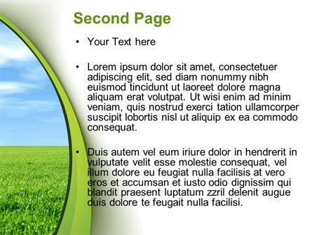 Horizon PowerPoint Template, Slide 2, 10523, Nature & Environment — PoweredTemplate.com