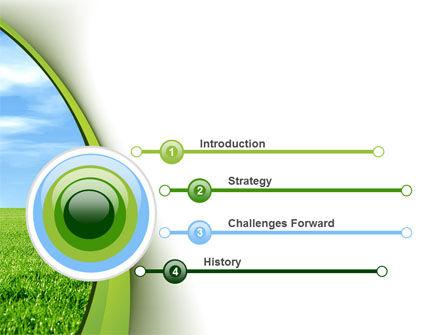 Horizon PowerPoint Template, Slide 3, 10523, Nature & Environment — PoweredTemplate.com