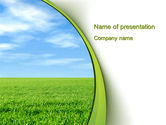Nature & Environment: Horizon PowerPoint Template #10523