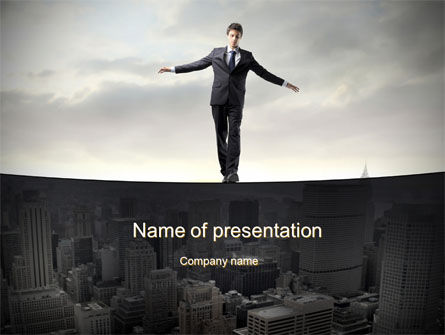 Business Concepts: Risk Control PowerPoint Template #10524