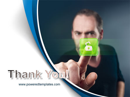 Touch to Unlock PowerPoint Template Slide 20