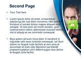 Touch to Unlock PowerPoint Template#2
