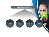 Touch to Unlock PowerPoint Template#8