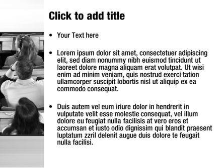 Lecture PowerPoint Template, Slide 3, 10535, Education & Training — PoweredTemplate.com