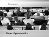Education & Training: Lecture PowerPoint Template #10535