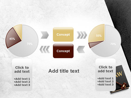 Law Book with Gavel PowerPoint Template Slide 16