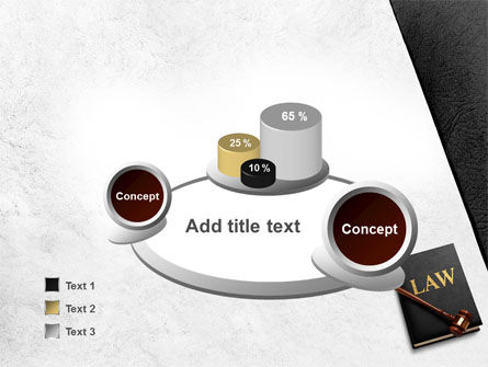 Law Book with Gavel PowerPoint Template Slide 6