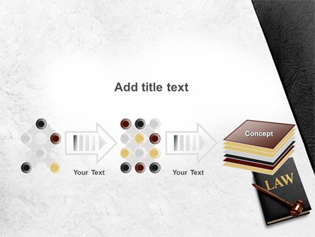 Law Book with Gavel PowerPoint Template Slide 9