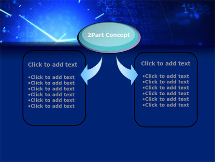 Time Concept in Digital PowerPoint Template Slide 4