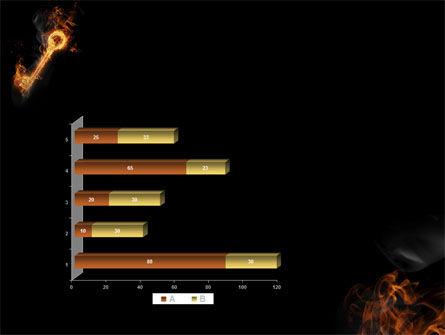 Fire Key PowerPoint Template Slide 11