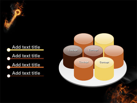 Fire Key PowerPoint Template Slide 12
