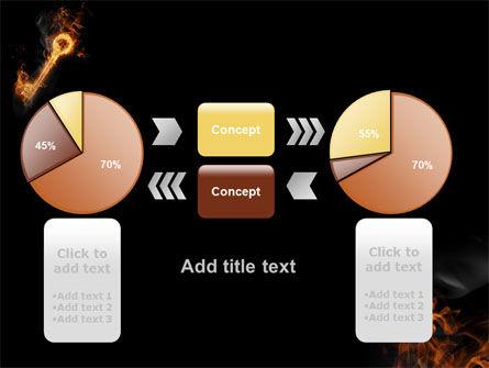 Fire Key PowerPoint Template Slide 16