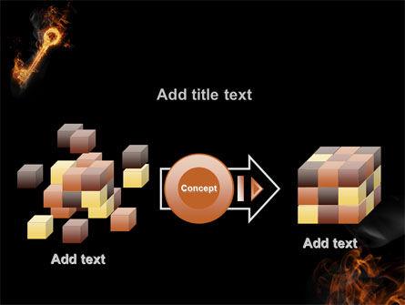 Fire Key PowerPoint Template Slide 17