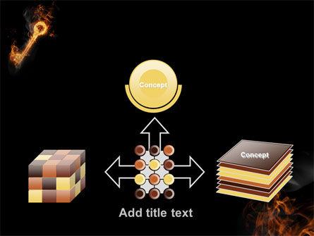 Fire Key PowerPoint Template Slide 19