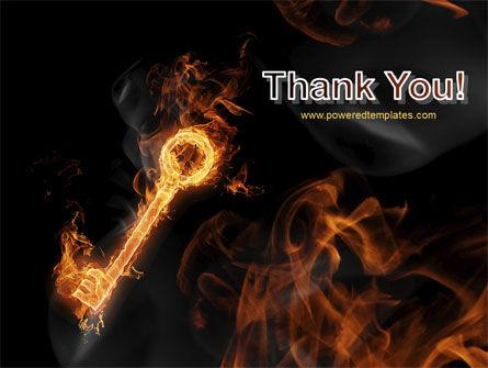 Fire Key PowerPoint Template Slide 20