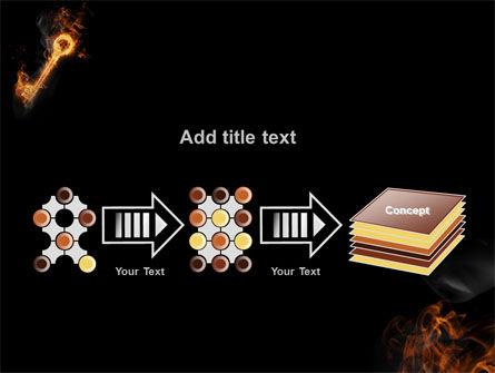 Fire Key PowerPoint Template Slide 9