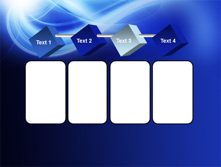 Blue Plume PowerPoint Template Slide 18