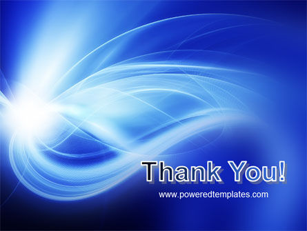 Blue Plume PowerPoint Template Slide 20