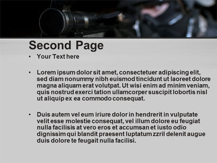 Commando PowerPoint Template, Slide 2, 10543, Military — PoweredTemplate.com