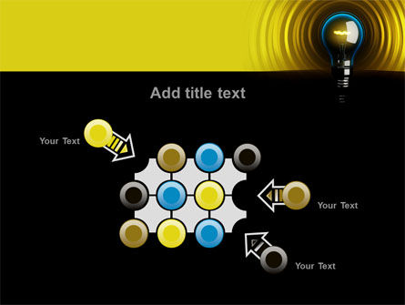 Incandescent Lighting PowerPoint Template Slide 10