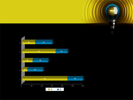 Incandescent Lighting PowerPoint Template Slide 11
