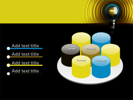 Incandescent Lighting PowerPoint Template Slide 12