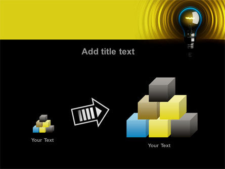 Incandescent Lighting PowerPoint Template Slide 13