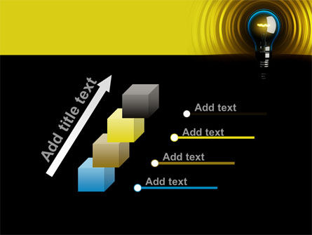 Incandescent Lighting PowerPoint Template Slide 14