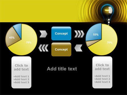 Incandescent Lighting PowerPoint Template Slide 16