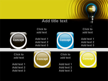 Incandescent Lighting PowerPoint Template Slide 18