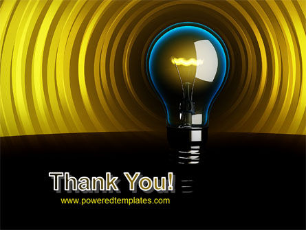 Incandescent Lighting PowerPoint Template Slide 20