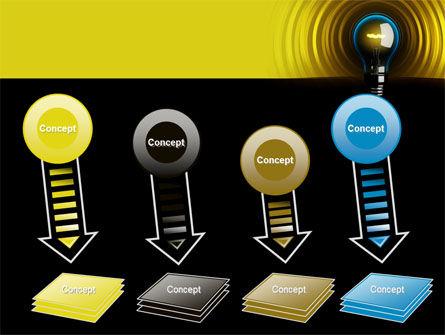 Incandescent Lighting PowerPoint Template Slide 8