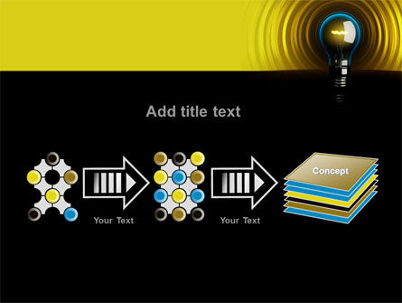 Incandescent Lighting PowerPoint Template Slide 9