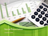 Financial/Accounting: Report Generation PowerPoint Template #10546