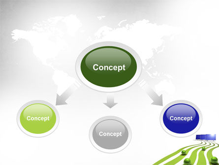 Green Energy Generation PowerPoint Template, Slide 4, 10548, Technology and Science — PoweredTemplate.com