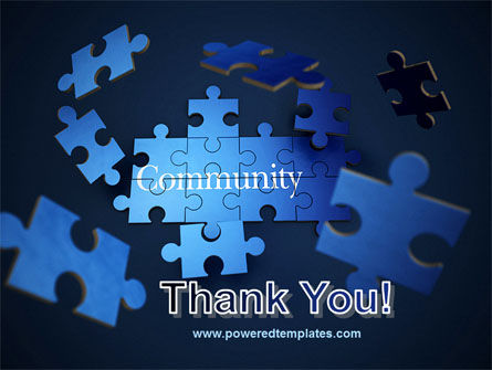 Building Community PowerPoint Template Slide 20