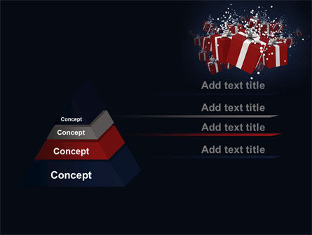 Gift Boxes PowerPoint Template Slide 12