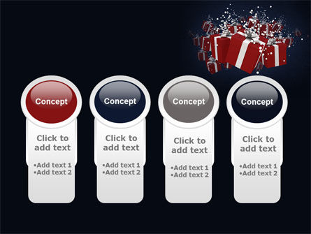 Gift Boxes PowerPoint Template Slide 5