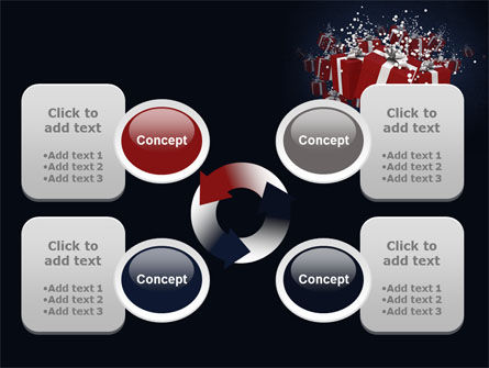 Gift Boxes PowerPoint Template Slide 9