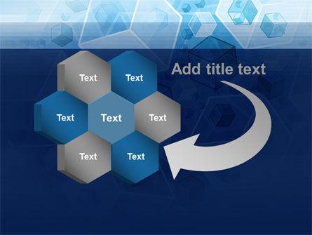 Cubes Pattern PowerPoint Template Slide 11