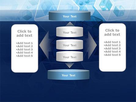 Cubes Pattern PowerPoint Template Slide 13