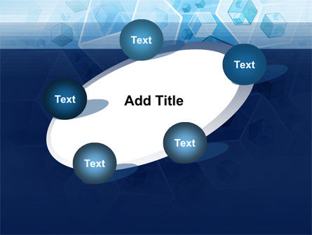 Cubes Pattern PowerPoint Template Slide 14